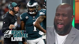 What went wrong in the Eagles' embarrassing loss to the Cowboys?   Eagles Postgame Live