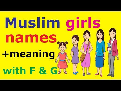Muslim girls names with meanings starting with f and g | Modern Islamic baby names