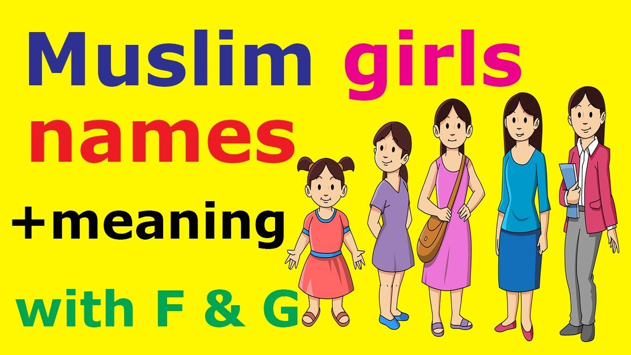 Muslim Girls Names With Meanings Starting With J Modern Islamic Baby Names Youtube