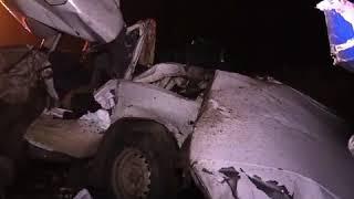 Крупное ДТП произошло в Крыму в пятницу вечером на трассе Керчь-Феодосия.