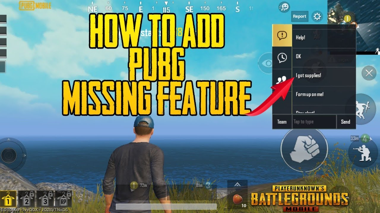 0.99% People Know About This Trick | How To Enable i got supplies missing feature in Pubg Mobile  #Smartphone #Android