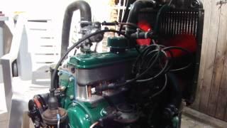 le moteur de 4cv tourne