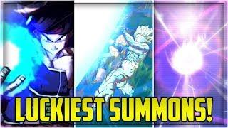 LUCKIEST SUMMONS IN DRAGON BALL LEGENDS! (Part 4) | Dragon Ball Legends List