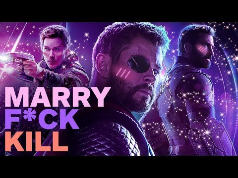 Avengers: Infinity War Cast Plays F**k, Marry, Kill with Pratt, Hemsworth and Evans