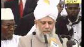Ahmadiyya Khalifa in 78th Annual Convention of Ghana 1 of 4