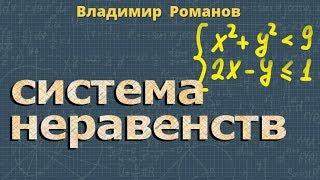 СИСТЕМА НЕРАВЕНСТВ алгебра 9 класс видеоурок