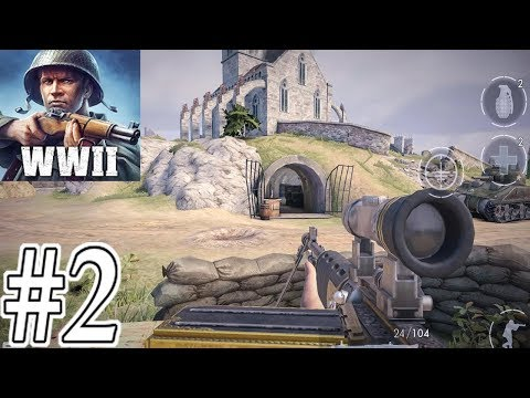 World War Heroes Android GamePlay #2 - Best Player Of The Games