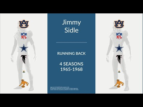 Jimmy Sidle: Football Running Back