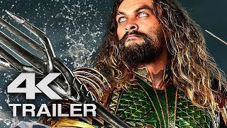 AQUAMAN Extended Trailer 2 (4K ULTRA HD) 2018  - Jason Momoa Superhero Movie