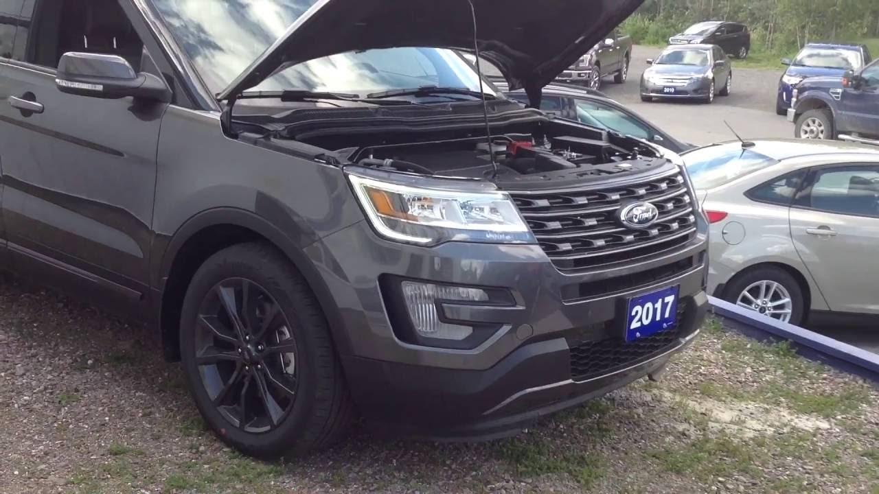 2017 Ford Explorer XLT 4WD Stock 5655