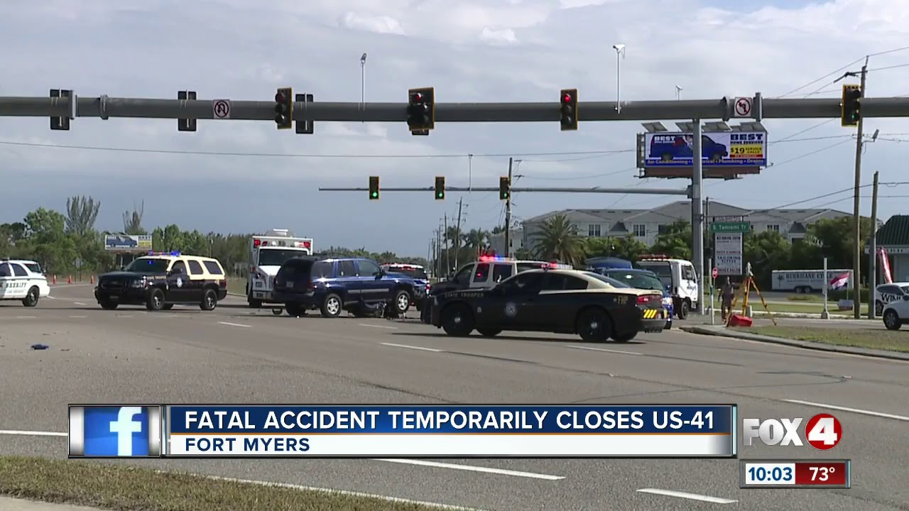 Fatal Accident Temporarily Closes US-41