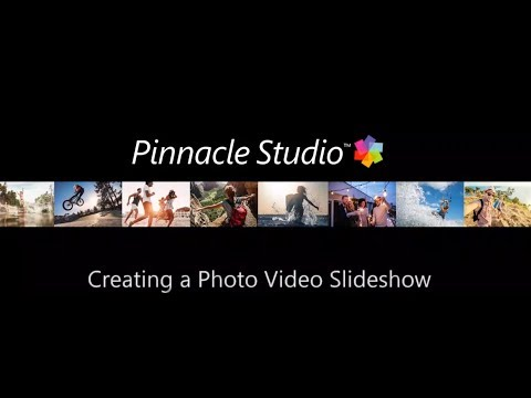 Pinnacle Studio Photo Slideshows