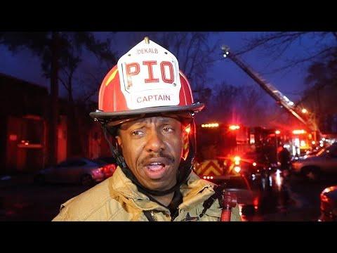 Watch: 12 Injured In Massive Apartment Blaze