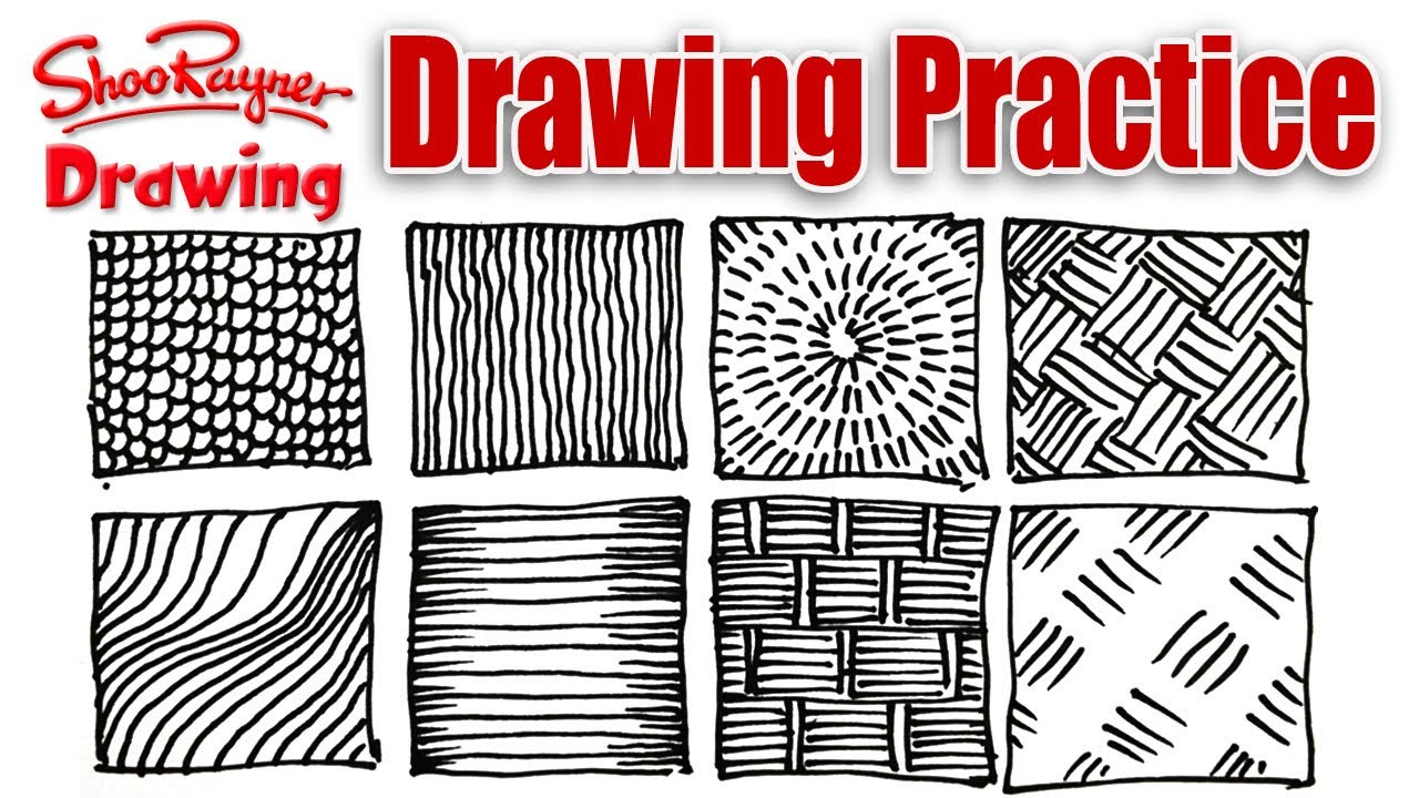 Line Art Exercises : Why you should practice drawing youtube