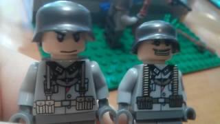 Самоделки Лего о второй мировой войне.
