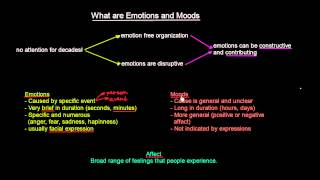 What are Emotions and Moods | Organisational Behavior | MeanThat
