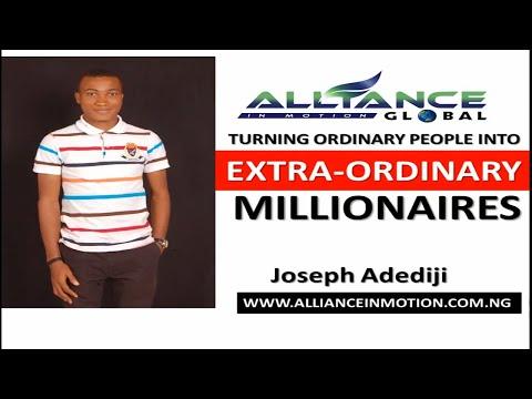 NEW ALLIANCE IN MOTION GLOBAL NIGERIA (AIM GLOBAL) OPPORTUNITY PLAN - Earn 153,200 Naira Per Day