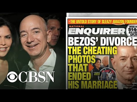 Jeff Bezos: National Enquirer is blackmailing me