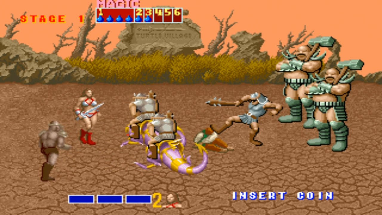 Image result for golden axe arcade game