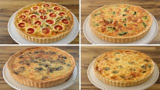 How to Make a Quiche - 4 Easy Recipes