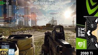 Battlefield 4 Maximum Settings 4K | RTX 2080 Ti | i9 9900K 5.1GHz
