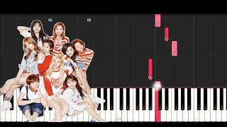 Twice - Heart Shaker (Piano Tutorial)