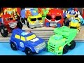 NEW 2015 TRANSFORMERS RESCUE BOTS SALVAGE OPTIMUS CHASE BOULDER