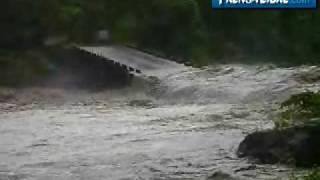 Imágenes de inundaciones en Quetzaltenango y San Marcos