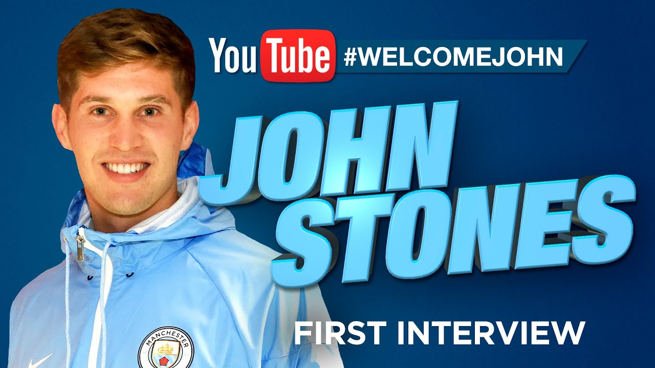 john stones signs for man city exclusive first interview exclusive first interview