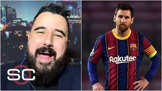 Álvaro Morales se BURLA de Messi tras la derrota del Barcelona vs el PSG de Mbappé | SportsCenter