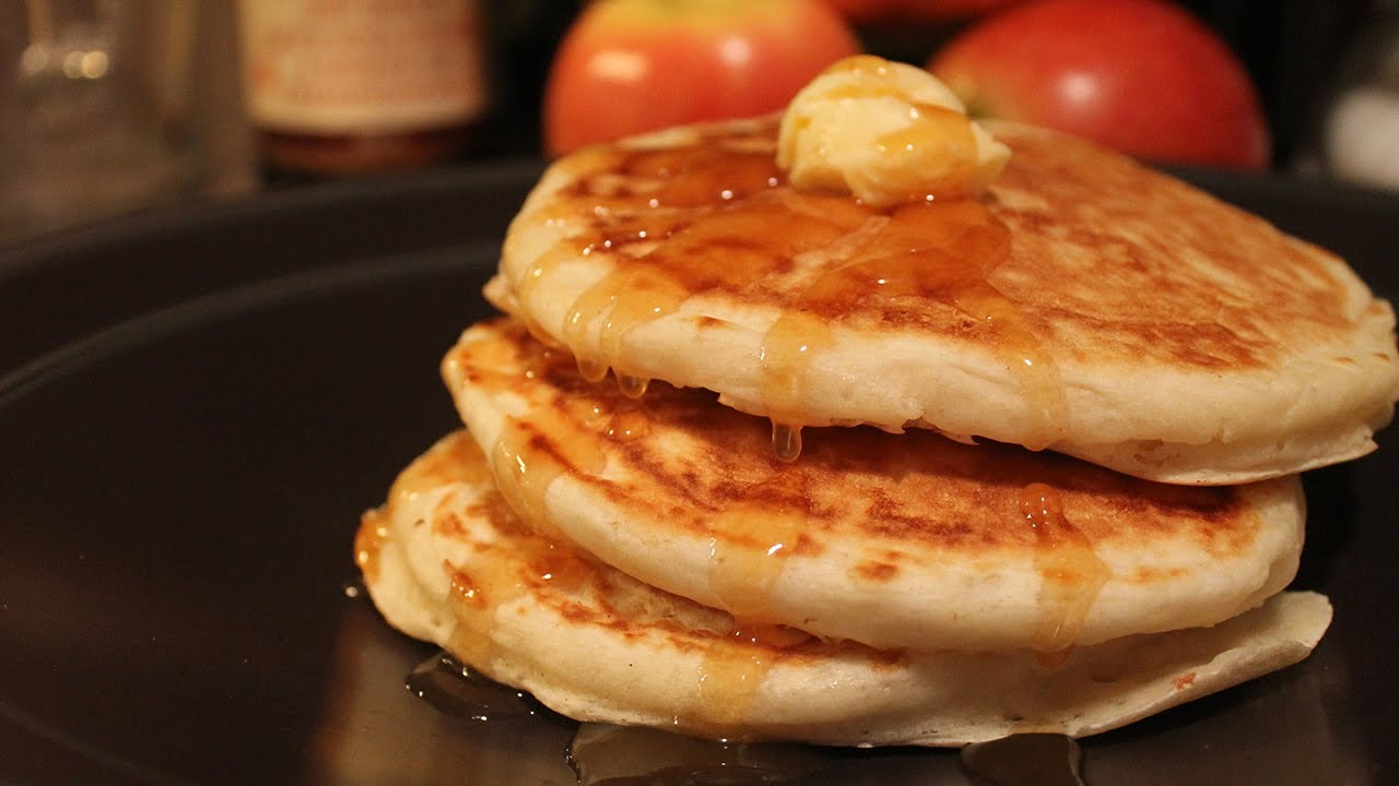 Fluffy flax vegan pancakes youtube ccuart Images