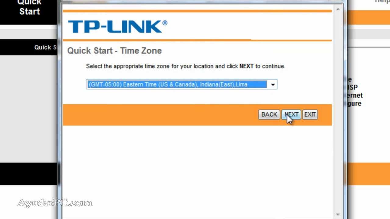 Configuracion Router Tp Link Td8901g Movistar Doovi
