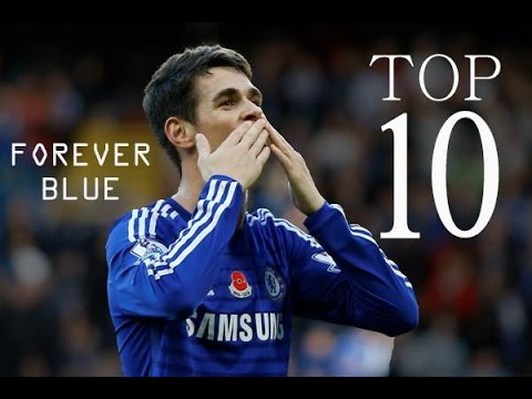 Oscar Emboaba - Top 10 Goals For Chelsea FC - Forever Blue - HD