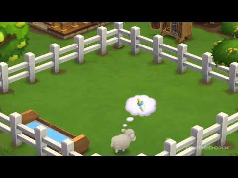 Baby Columbia Sheep - FarmVille 2's Hay is for Horses Theme