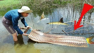 Nghi Ngờ Có Xác Chết Trong Cái Chiếu Dưới Hồ Kéo Lên Phát Hiện Điều Bất Ngờ Cá.Challenge ASMR Box