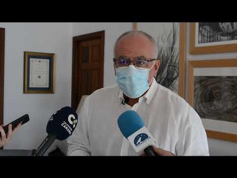 El consejero de Aguas del Cabildo Carlos Cabrera  desmiente que las aguas estén contaminadas.