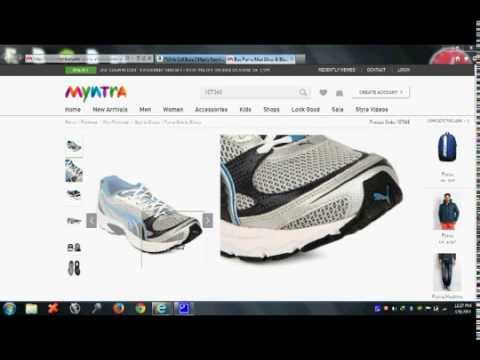 Myntra.com fooling Indians by selling duplicate fake shoes -Proof an eye  opener