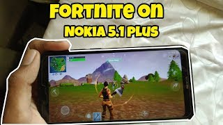 Fortnite sur Nokia 5.1 Plus (Travail)