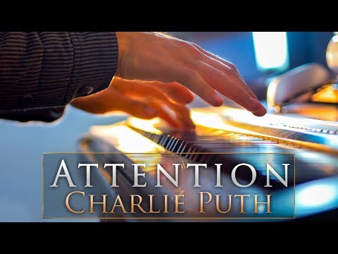 Charlie Puth - Attention | Piano Pop Instrumental by David Solis