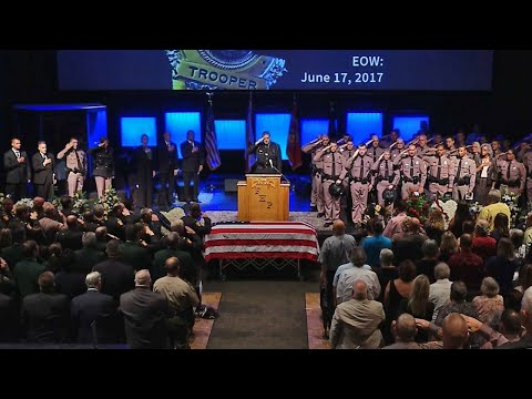 UNCUT: Master Sgt. William Bishop's funeral