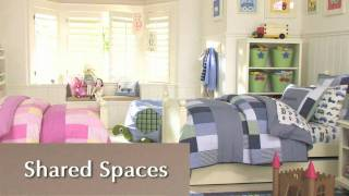 How To Divide Shared Space Efficiently | Pottery Barn Kids