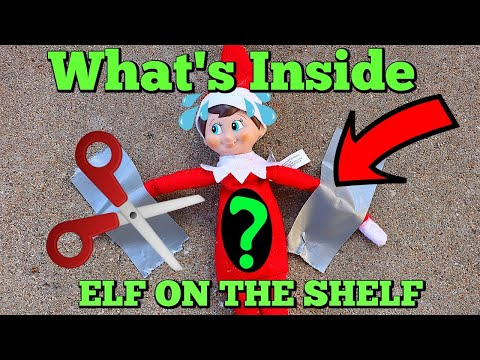 What's Inside The ELF ON THE SHELF! The Mean Elf Twins Take Candy Cane Our Elf Friend!