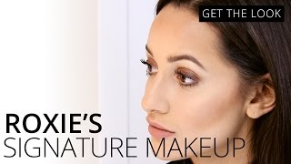 Roxie Nafousi's Signature Makeup Look | GET THE LOOK | Feelunique