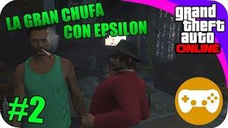 GTA V ONLINE CON EPSILONGAMEX #2 FUMANDO Y BEBIENDO