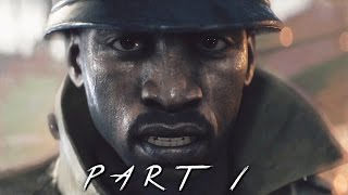 BATTLEFIELD 1 Walkthrough Gameplay Part 1 - Survive (BF1 Campaign)