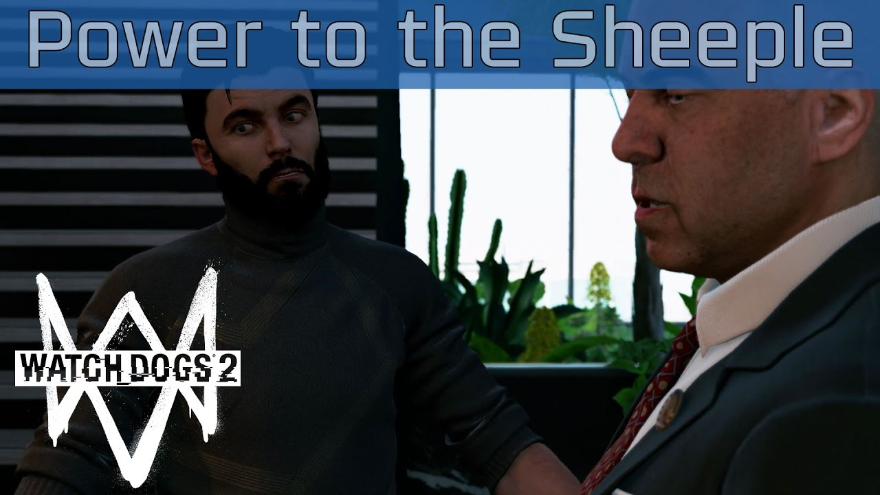 Walkthrough Watch Dogs  Power To The Sheeple