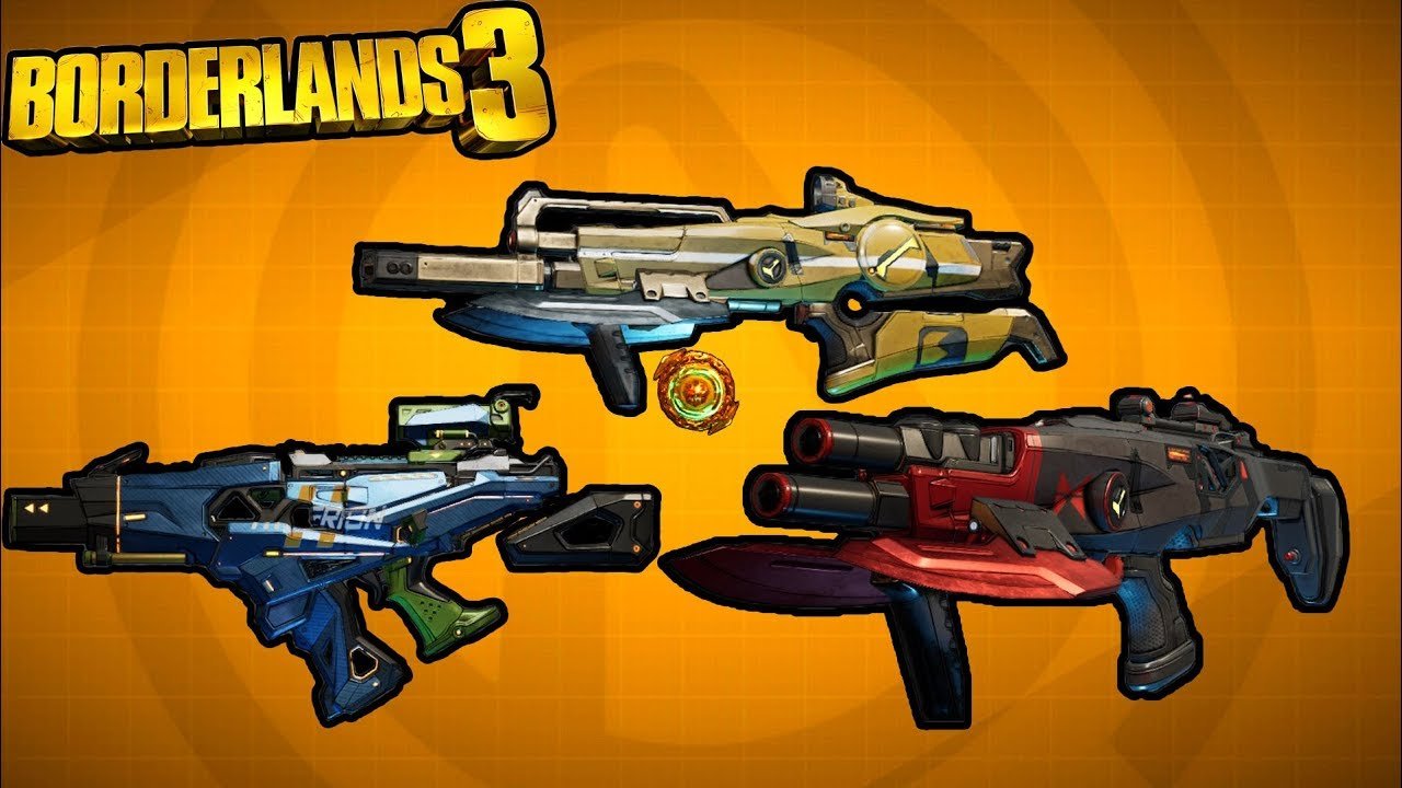 Borderlands 3 | Top 5 Most Sought Out Legendary Weapons! thumbnail
