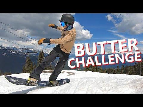 Butter 360 Snowboard Trick Challenge - Kevin VS TJ
