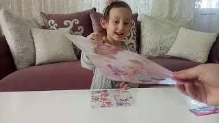 Prenses Sticker Setini Açıyoruz Eğlenceli Çocuk Videosu
