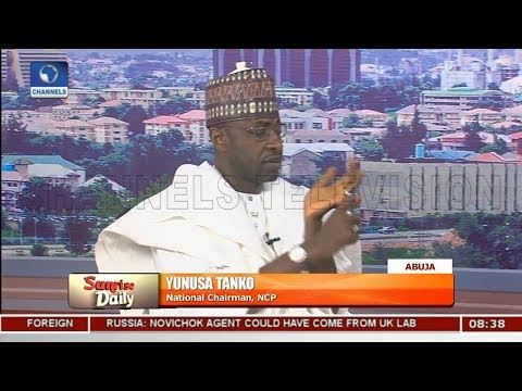 Coalition: NCP Not Ready To Relinquish Name-- Tanko |Sunrise Daily|